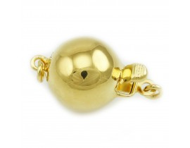 Polished Ball Clasps (1401)