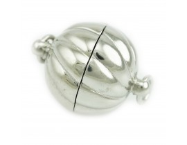 Twist Corrugated Ball Magnetic Clasps (1404)